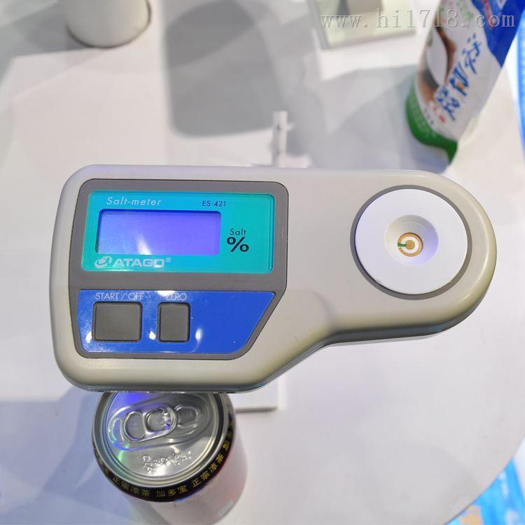 日本ATAGO数显盐度计 卤汤酱汁调料盐度检测仪