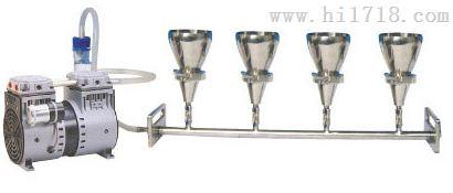 四联不锈钢溶液过滤器 MKY1559 麦科仪