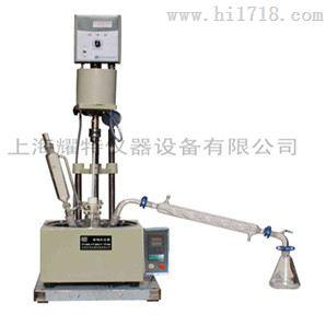 【价格优惠】制造商全新单层玻璃反应釜厂家  F-5L单层玻璃反应釜