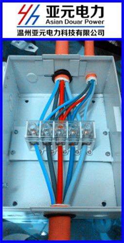 温州亚元厂家直销120t接端子箱 电缆t型接线箱 低压电缆t接箱 电缆t接