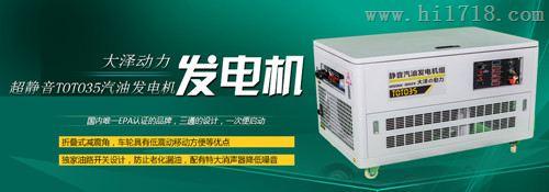 原装进口35kw汽油发电机