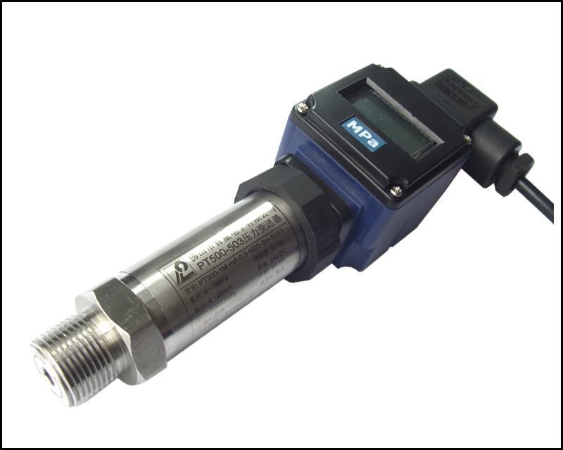 数显压力变送器PT500-503S,大量供应数显压力传感器普量