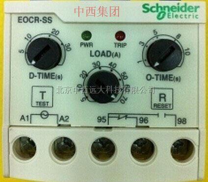 施耐德电流继电器05n 30n 60n过电流保护器 型号:eocr