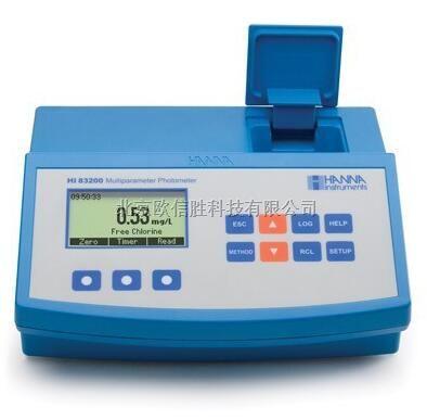 意大利哈纳多参数水质测定仪HI83200
