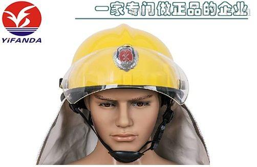 韩式消防安全头盔,消防员灭火防护头盔
