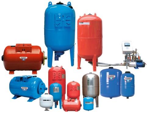 罐用于闭式水循环系统中,起到了平衡水量及压力的作用,避免安全阀频繁