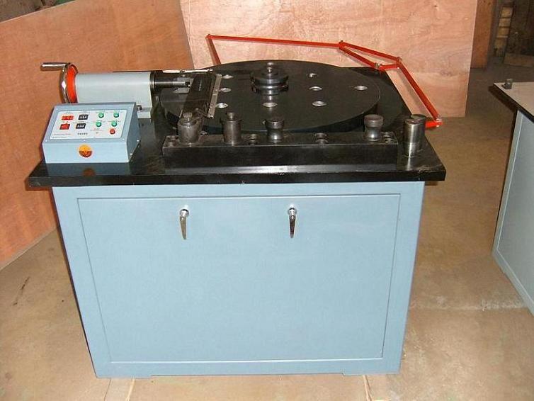 产品中心 工程机械 > gw-40b钢筋弯曲试验机  采用数字集成电路,试验