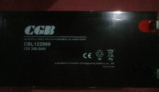 CGB阀控式铅酸蓄电池CB122000长光12V200AH