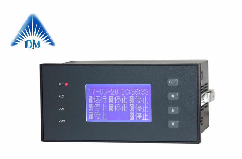 八通道设备运行时间记录表格 DM1096 博敏特成都智能开关量时间统计表