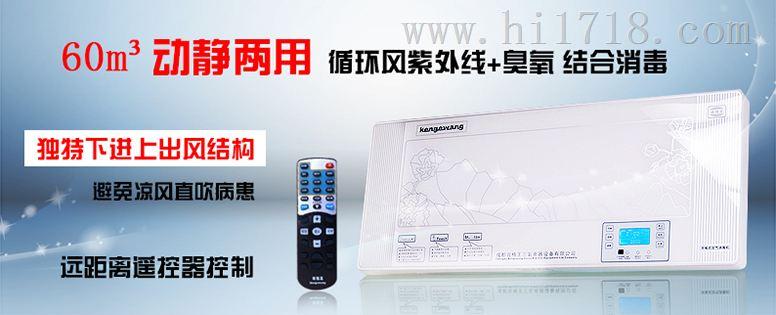 壁挂式空气消毒机肯格王YKX/Y100价格是多少动静两用60m3