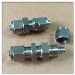 双头锁母气管直通—不锈钢304/316,双头锁母气管直通 工厂直销
