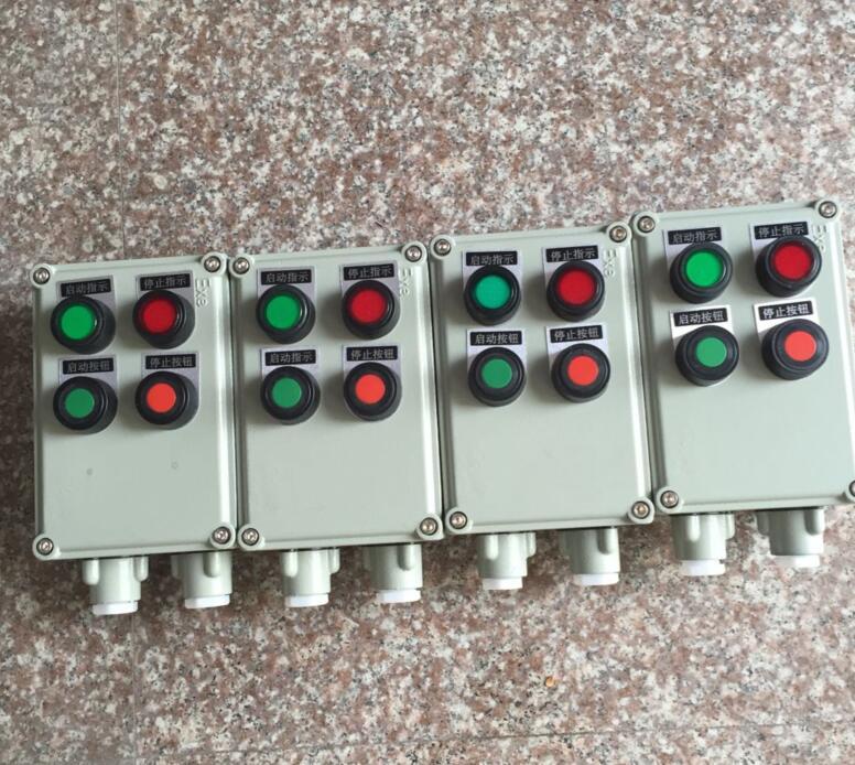 装有电流表,信号灯的操作柱还可对电机运行或电路情况进行监测,显示或
