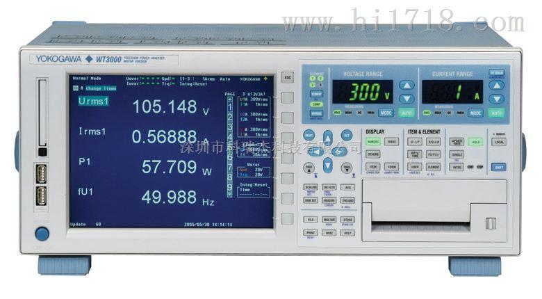 横河WT3000高精度功率分析仪