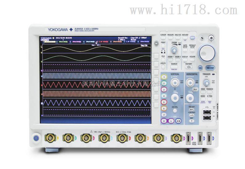 DLM4038/DLM4058横河DLM4000 MSO系列混合信号示波器