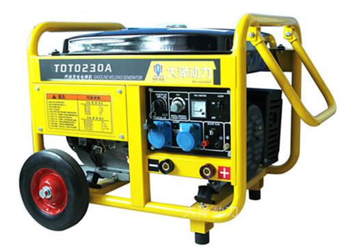 能发电能电焊190a发电电焊机组