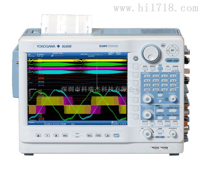 DL850/DL850V横河示波记录仪(停产)-DL850E/DL850EV