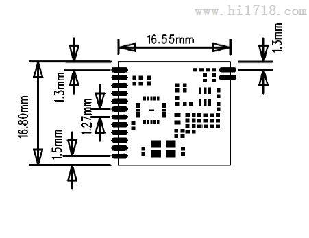 si4432无线模块