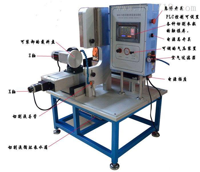 往复金刚石线切割机/金刚石带锯切割机LDX-WXD170