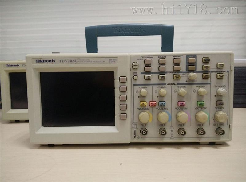 TDS2024 数字示波器 200MHZ 2GS/S TDS-2024深圳二手仪器甩卖