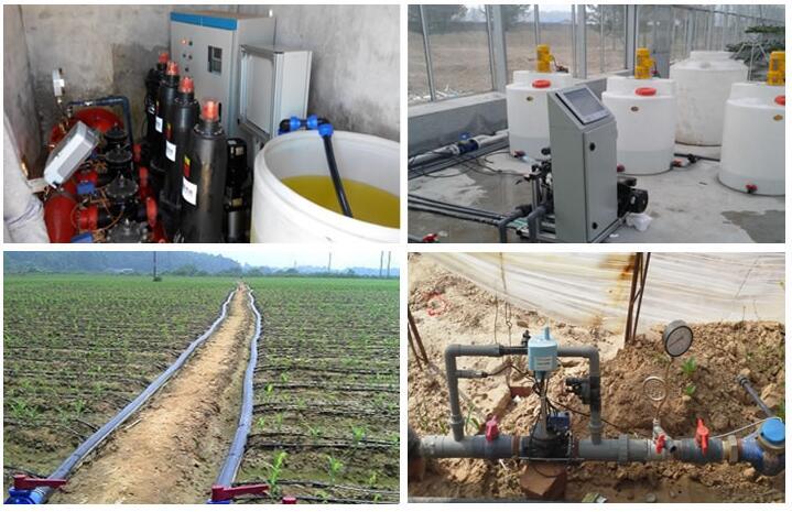 水肥一体化滴灌系统