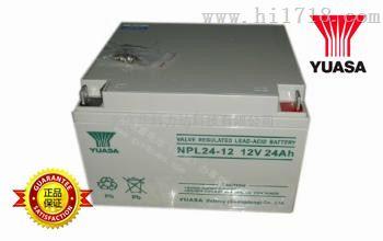 阀控式胶体蓄电池 NPL24-12 汤浅蓄电池销售商