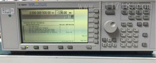 AgilentE4438C价格、E4433C 信号发生器多少钱、 AgilentE4438C厂家