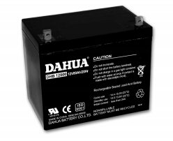 DHB12650大华电源蓄电池