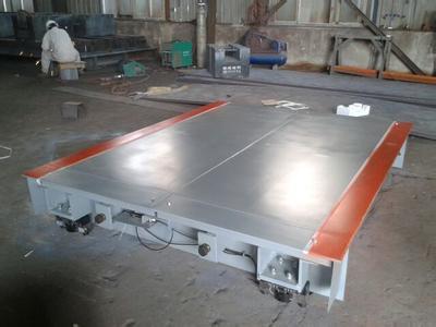地称 上海鹰衡称重设备有限公司 产品中心 地磅 > 莆田地磅  秤台结构