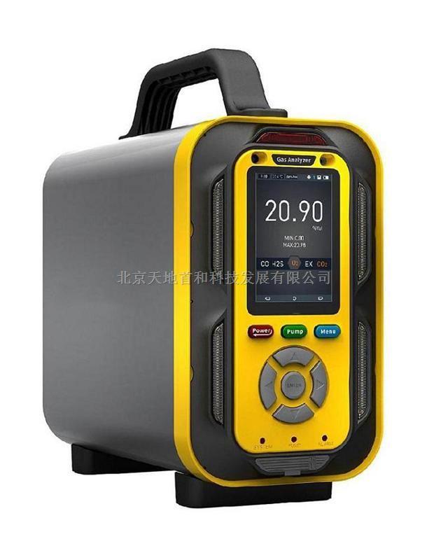 检测1~6种气体的可燃气体分析仪TD6000-SH-EX
