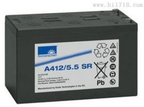 德国阳光蓄电池A412/20 G5,报价、详细说明