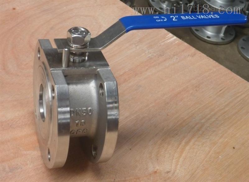 铸钢/不锈钢超薄型球阀/意大利球阀q71f-16p/c dn25 32 40 50-200图片