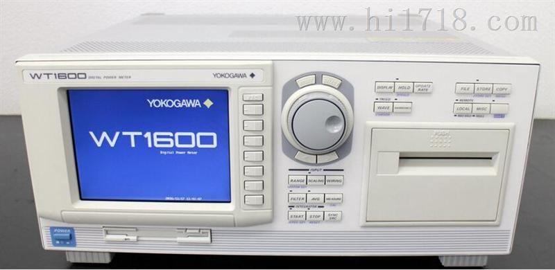 YOKOGAWA WT1600、 WT1600功率分析仪、 YOKOGAWA一级代理商、泽瑞光科技