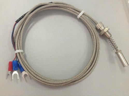 厂家WZPM-201带导线式螺纹端面热电阻探头