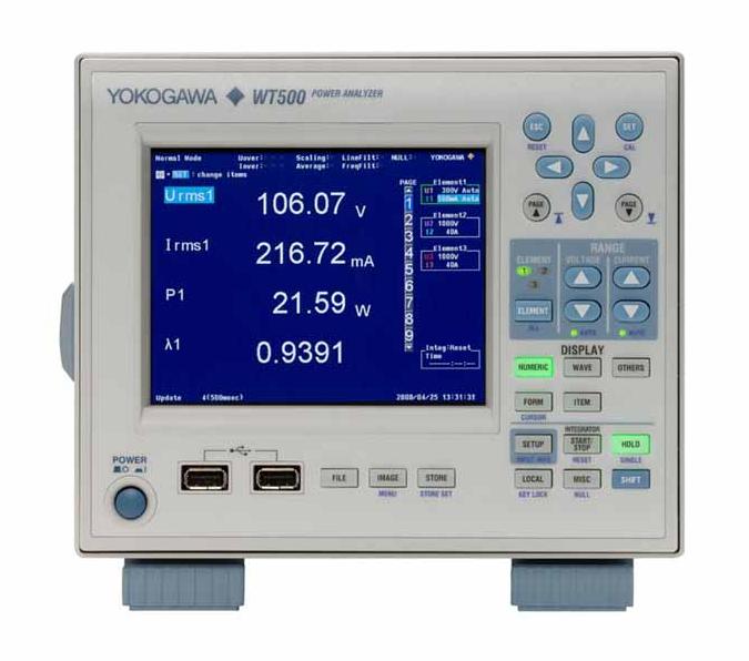WT500功率分析仪 横河深莞惠授权代理商 WT500