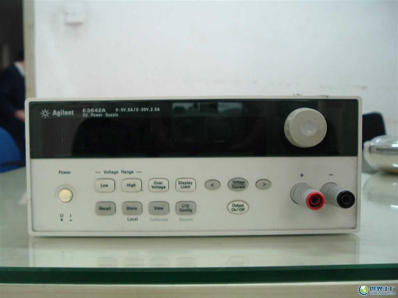 供应agilent三路输出电源e3631a产厂家:6v,5a和±25v