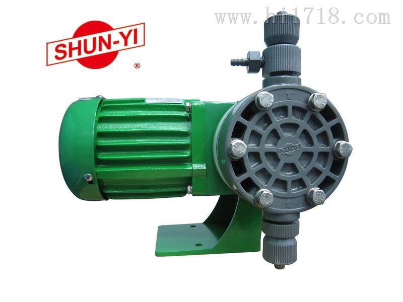 台湾顺益机械隔膜式计量泵NE-1,厂家直销