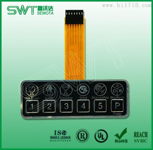 手机按键fpc柔性电路板_印刷线路板_捷配仪器仪表网