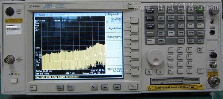 E4446A、江苏 E4446A频谱分析仪、 Agilent优质供应商、泽瑞光科技