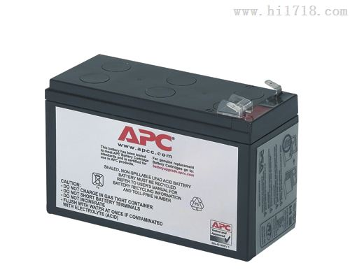 美国apc蓄电池包RBC40,12V-7AH现货促销,直接更换,维修
