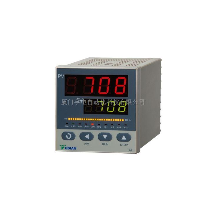 高精度温控表AI-708P,智能温度控制仪制造商高精度温控表宇电