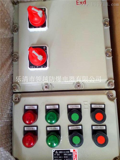 一控一防爆电机控制箱