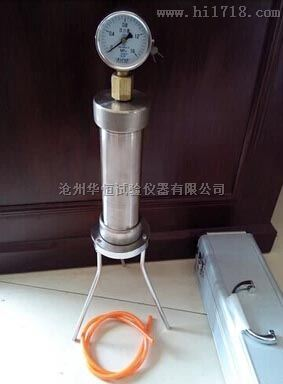 SYM-3压浆剂压力泌水率试验仪  沧州华恒厂家特价供应