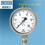 WIKA不銹鋼壓力表_WIKA不銹鋼壓力表233.50.100