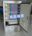 144芯不锈钢光交箱(室外落地式安装教程)