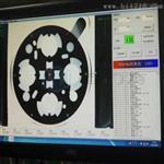 网纱机检测系统应用方案,圆形孔测量和缺陷检测案例