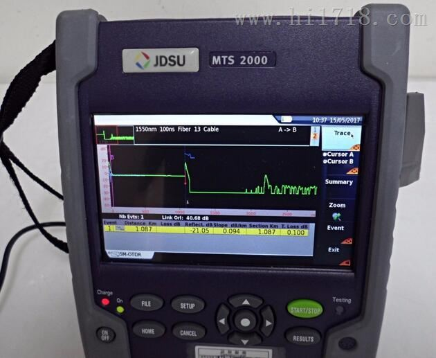MTS-2000使用说明、广东MTS-2000手持式光时域反射仪