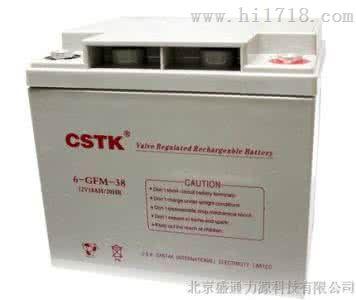 CSTK蓄电池EPS电源直流屏电源 12V38AH 山特蓄电池供应