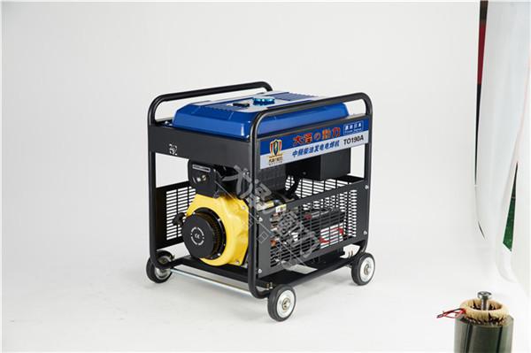 管道焊接300A柴油发电焊一体机