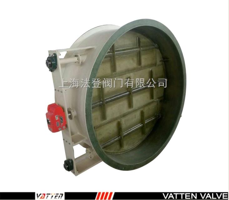 上海电动玻璃钢蝶阀厂家   详细资料