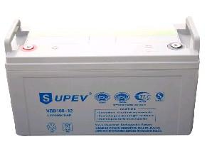 SUPEV蓄电池VRB100-12/12V100AH规格参数